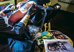 Lucky No. 3 Tattoo Company Is a Lewis County Favorite