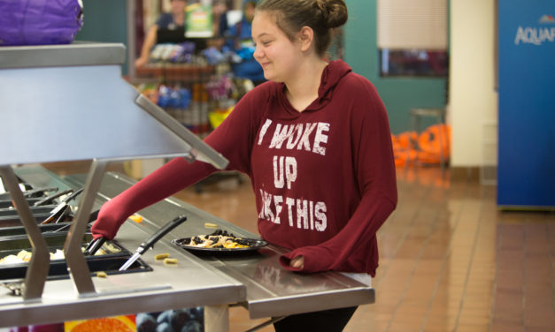 School Food Gets 'A-Plus' for Efforts: Centralia, Chehalis School Districts Combine for Largest Restaurant Servings  Per Day in the County
