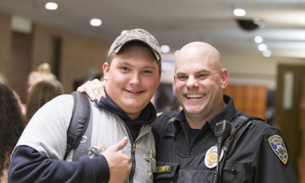 Officer Lowery Adopts 1,000 Kids: From Street Cop to Campus Connector, Officer Finds His Perfect Place