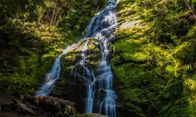 Get Your Winter Hike On: Angel Falls Loop Brings You to Covel Falls