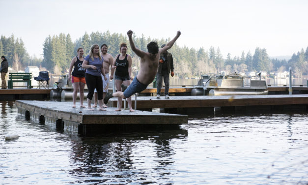 Join the 'Crazies' by Jumping Into Offut Lake