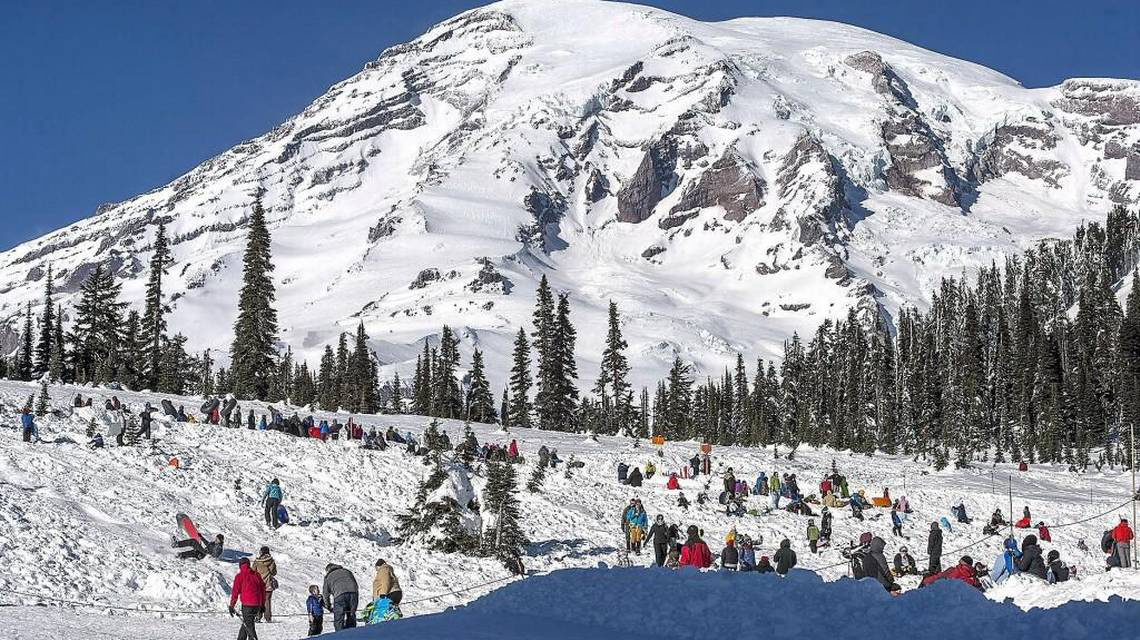Head to the Hills for New Year's Fun: Spend New Year's Eve at Mount Rainier