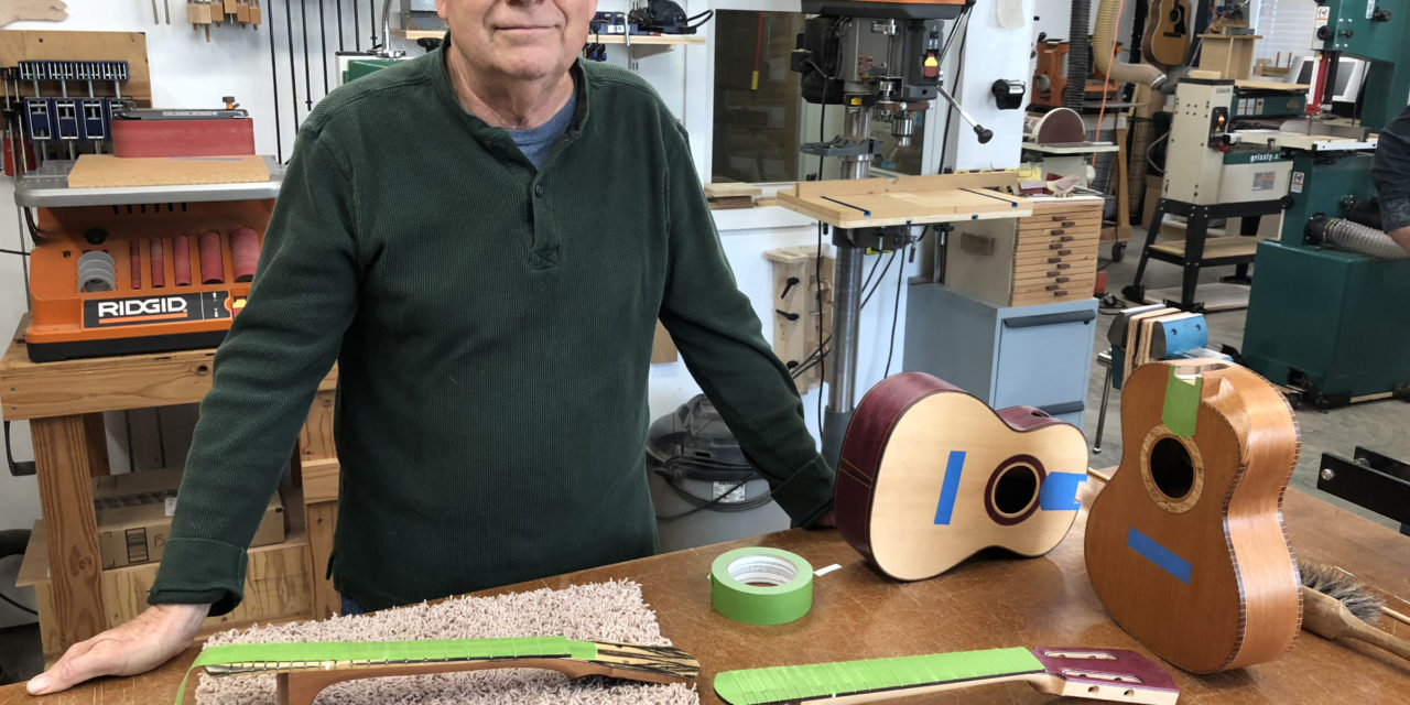For Napavine Man, Making Ukuleles an Unexpected Hobby